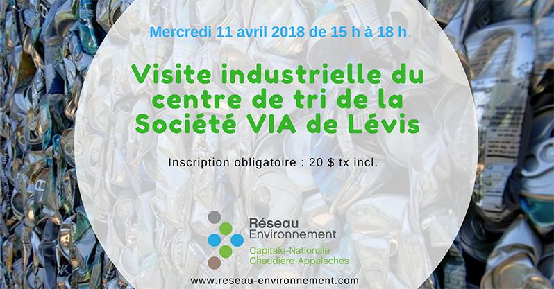Visite Industrielle Du Centre De Tri La Socit VIA Lvis