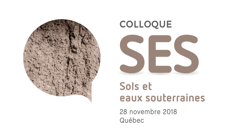 Programmation préliminaire du Colloque Sols et Eaux Souterraines 2018
