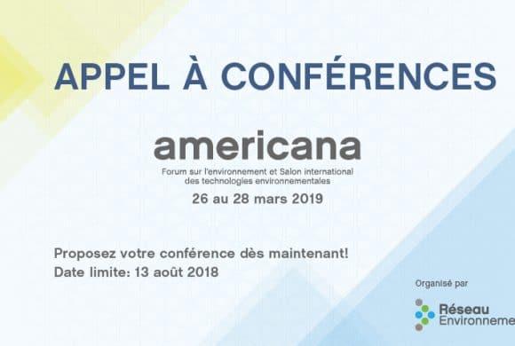 Appel à conférences : Americana 2019